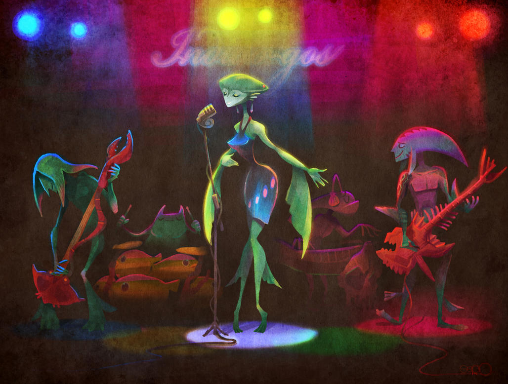 Like Jazz Zora band Indigo-gos by zgul-osr1113