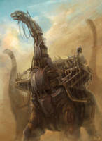 Bronto carrier by zgul-osr1113