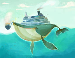 Whale ship by zgul-osr1113