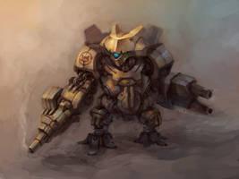 Short Leg Battlebot by zgul-osr1113
