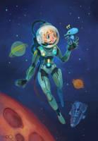 Spacegirl by zgul-osr1113