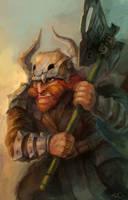 Red beard warrior by zgul-osr1113