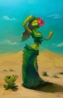 Cactus Girl by zgul-osr1113