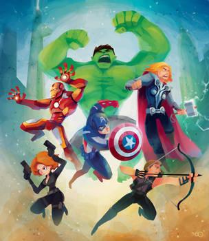 Avengers by zgul-osr1113
