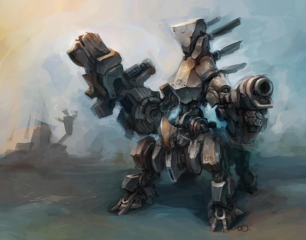 Four Legs Battlebot by zgul-osr1113
