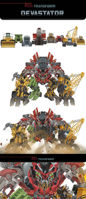 DEVASTATOR Transform animations