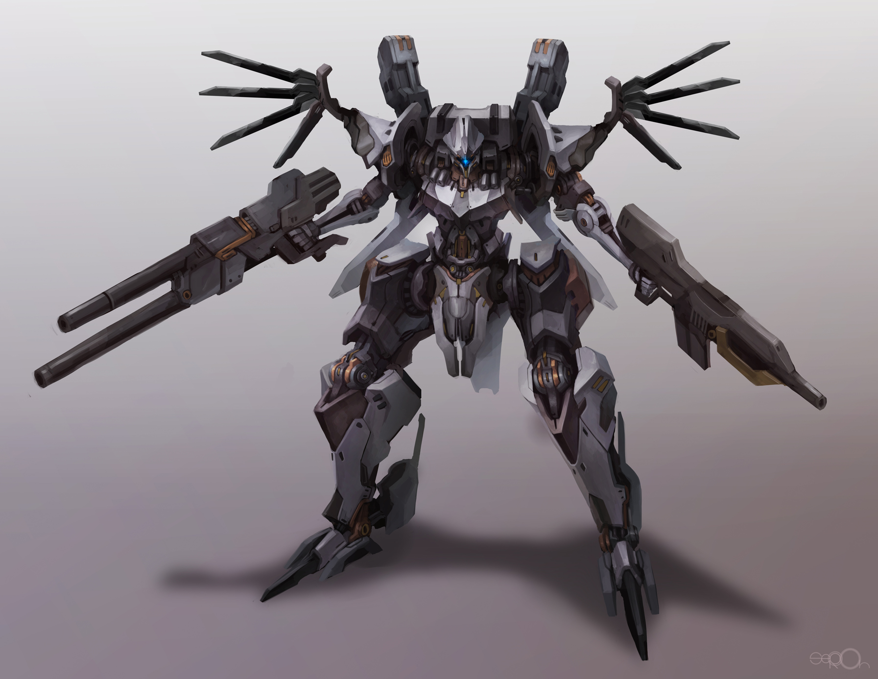 Armored core redesign by zgul-osr1113
