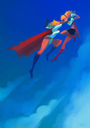 Powergirl Supergirl