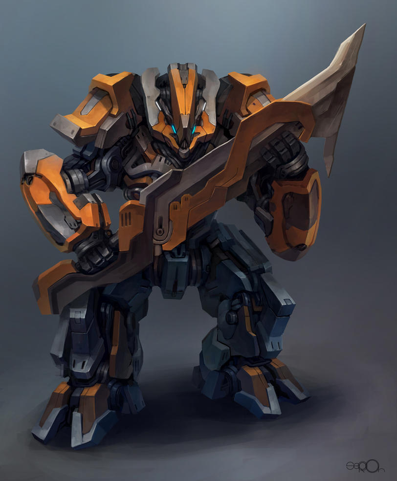 Big bladebot by zgul-osr1113