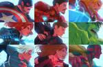 Avengers Age of Ultron members