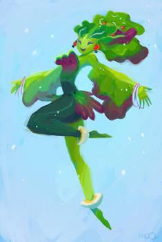 Salade girl