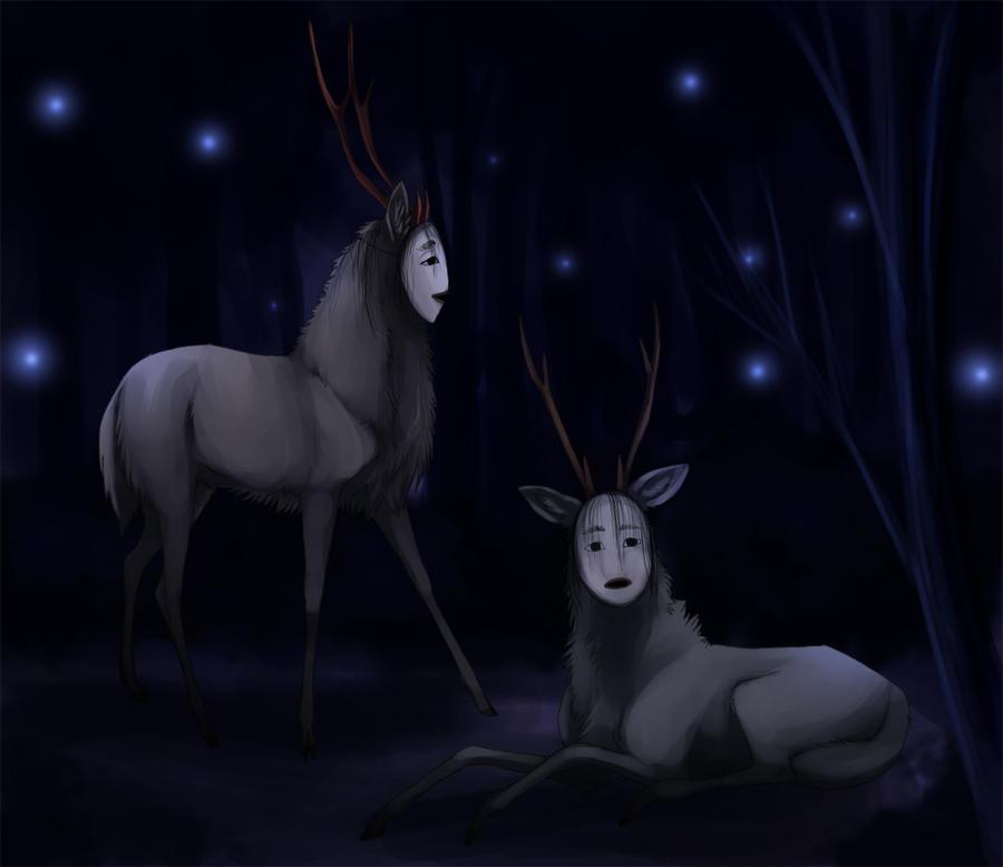 Shika-onna by Stalcry