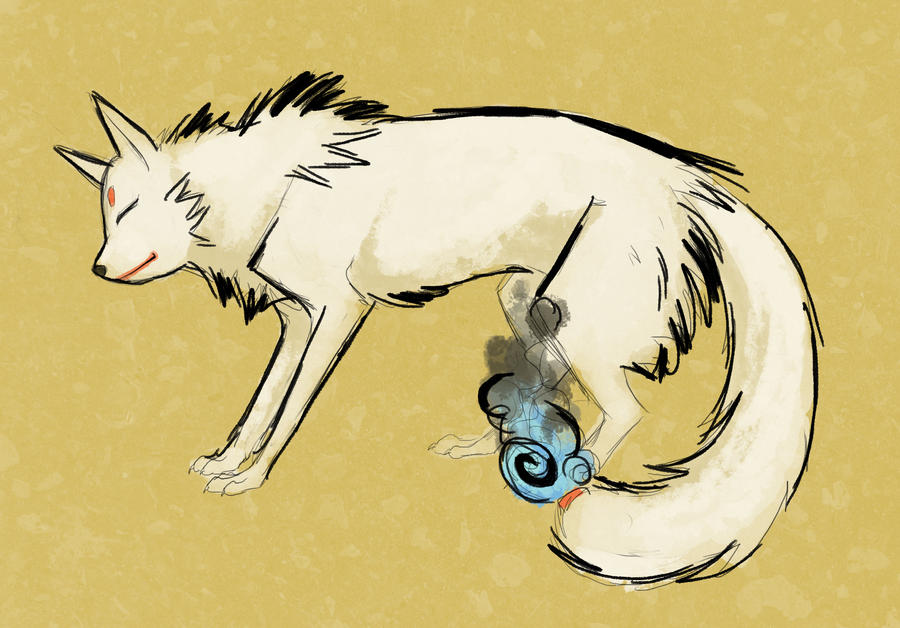 Kitsune Sketch by Stalcry