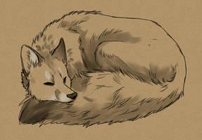Cuddle Fox by Stalcry