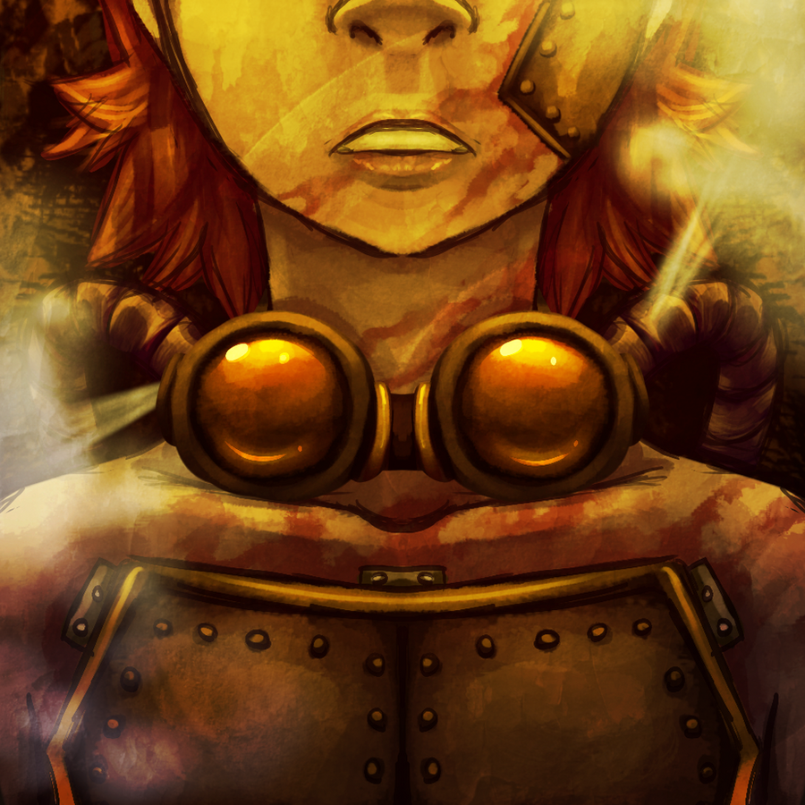 Steampunk Cyborg by Stalcry