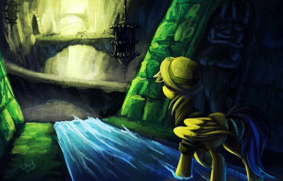 Daring Do - No Turning Back by Stalcry