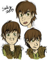 Hiccup Sketches Round 2 by Stalcry