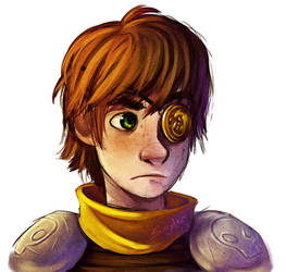 Hiccup - Battle Scars