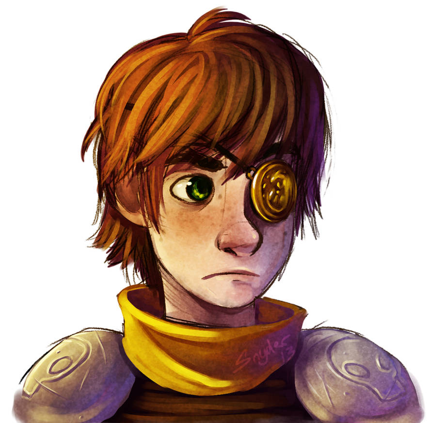Hiccup - Battle Scars by Stalcry on DeviantArt