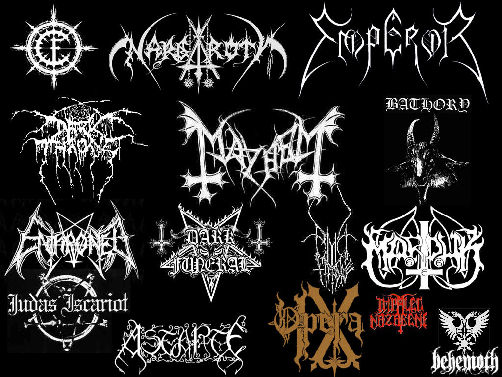 illegible black metal logo - photo #24