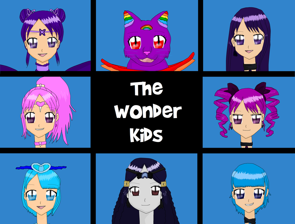 10 years with The Wonder Kids by EllaXxXAmu
