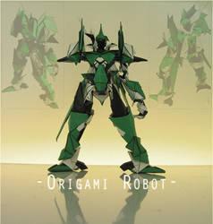 Origami - Greet Robot 001b by derk-kun