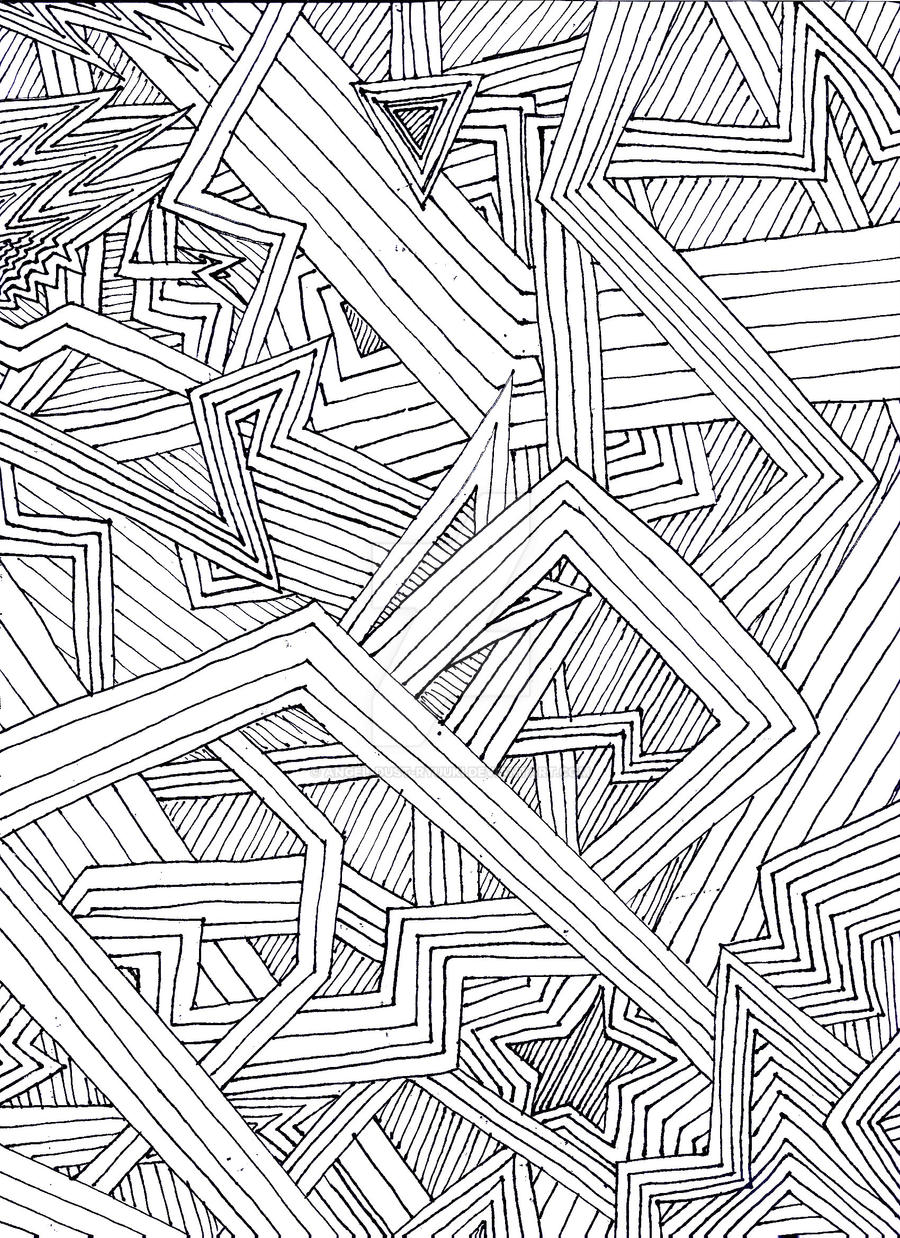 Maze of Lines by Angel-Dust-Ryuuki
