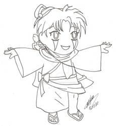 Jokosu Line Art by Angel-Dust-Ryuuki