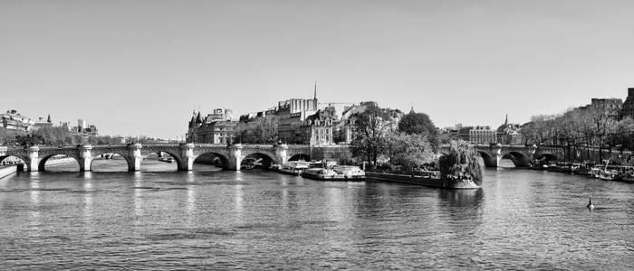 Paris - Old is New - Spring '21 - B/W