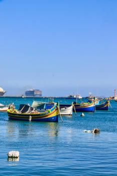 Malta - Contrasts of Marsaxlokk - Spring '21