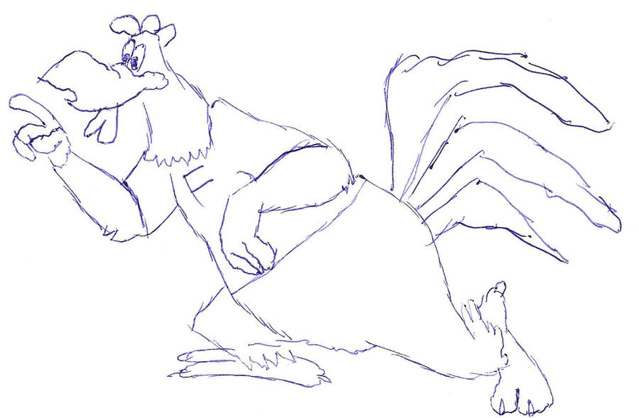 how to draw foghorn leghorn