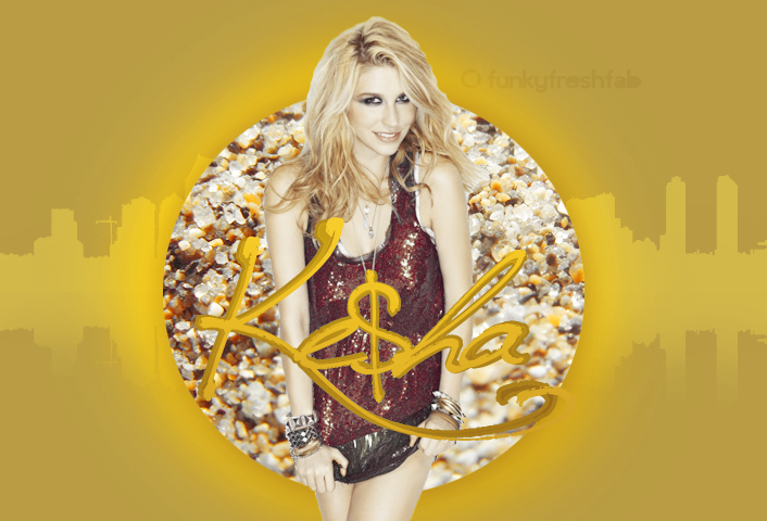 ke$ha by funkyfreshfab