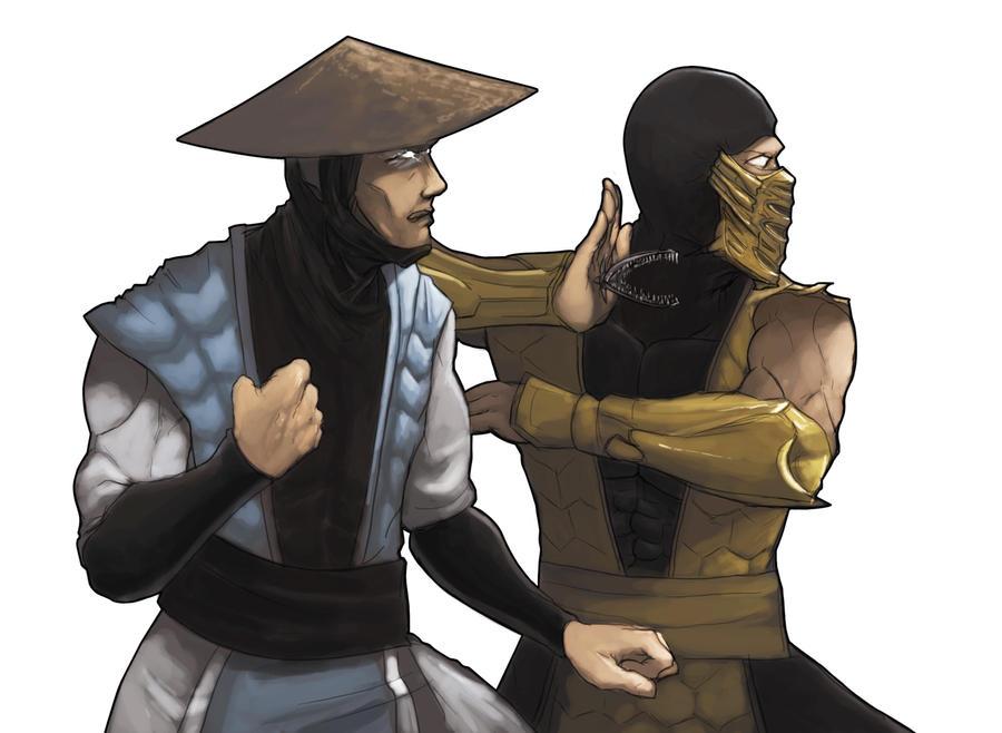 Mortal Kombat Raiden Drawings Mortal Kombat Tag Team