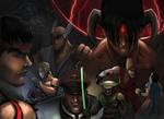 Street Fighter Versus Tekken Fan Art