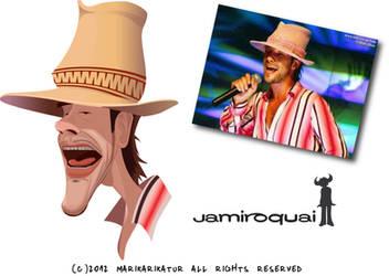 Jamiroquai Caricature by pati88