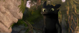 How To Train Your Dragon Screencap - Toothless