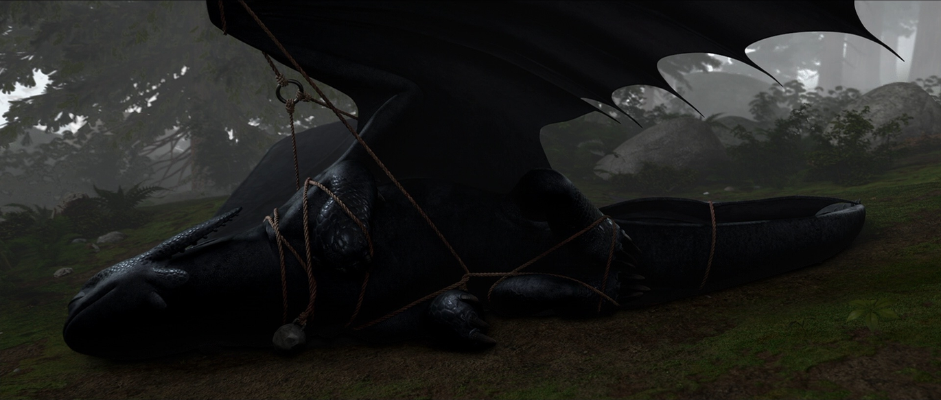 How to train your dragon screencap toothless by dashiesparkle on