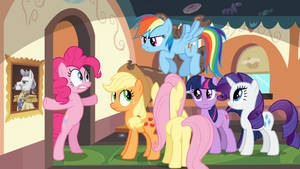 MLP:FIM - MMMystery On The Friendship Express by DashieSparkle