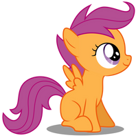Vector #14 - Scootaloo by DashieSparkle