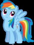 MLP:FIM - Vector #16 - Rainbow Dash #4
