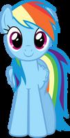 Vector #34 - Rainbow Dash #7 by DashieSparkle