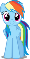 Vector #34 - Rainbow Dash #7