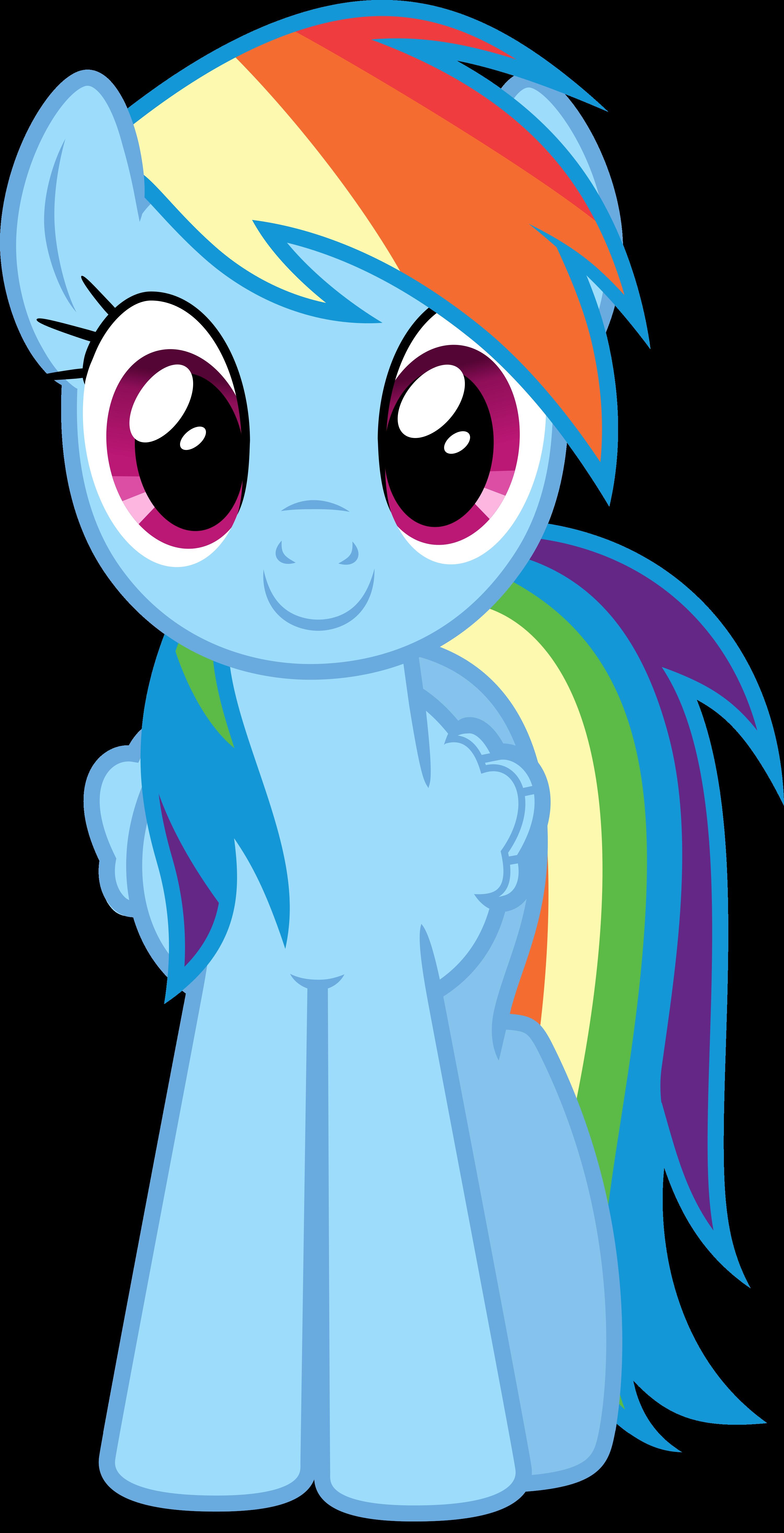 Rainbow Dash Movie Style by Negatif22 on DeviantArt