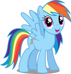 Vector #65 - Rainbow Dash #12