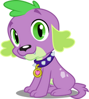 Vector #72 - Spike #4 by DashieSparkle