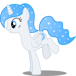 Vector #98 - Princess White Flare #4 by DashieSparkle