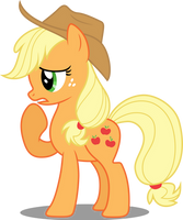 Vector #114 - Applejack #9 by DashieSparkle