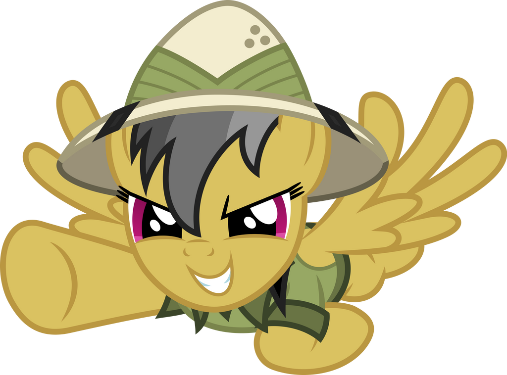 My Little Pony Coloring Pages Daring Do : Vector daring do by dashiesparkle on deviantart