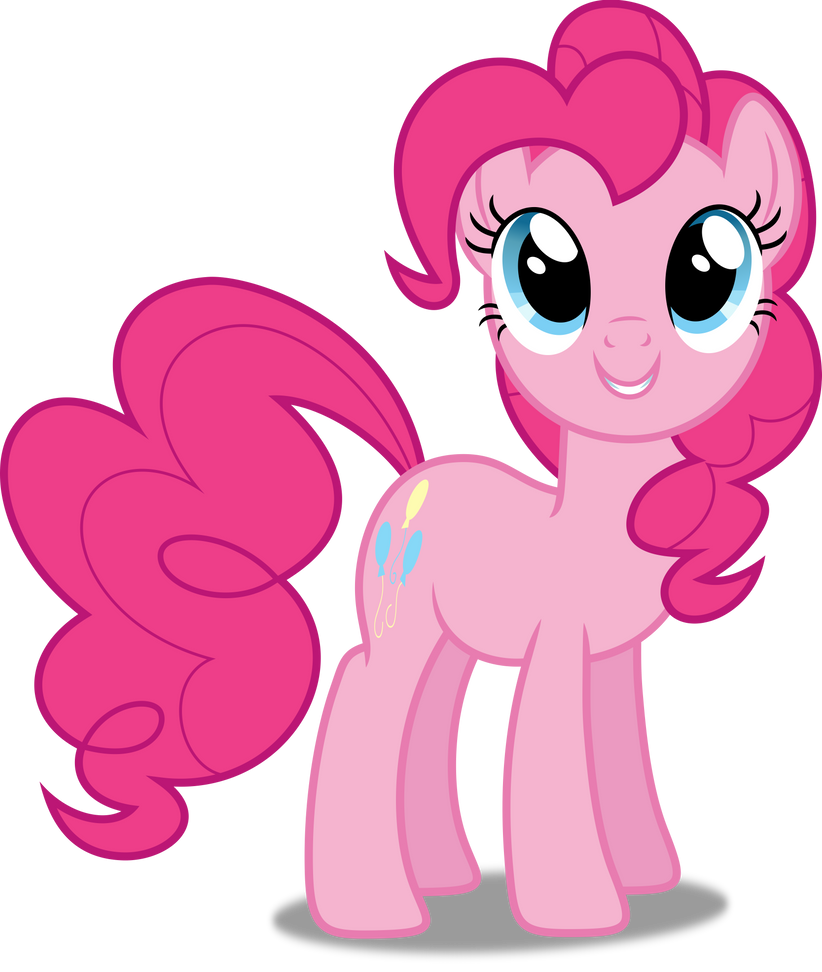 Vector #138 - Pinkie Pie #9 by DashieSparkle