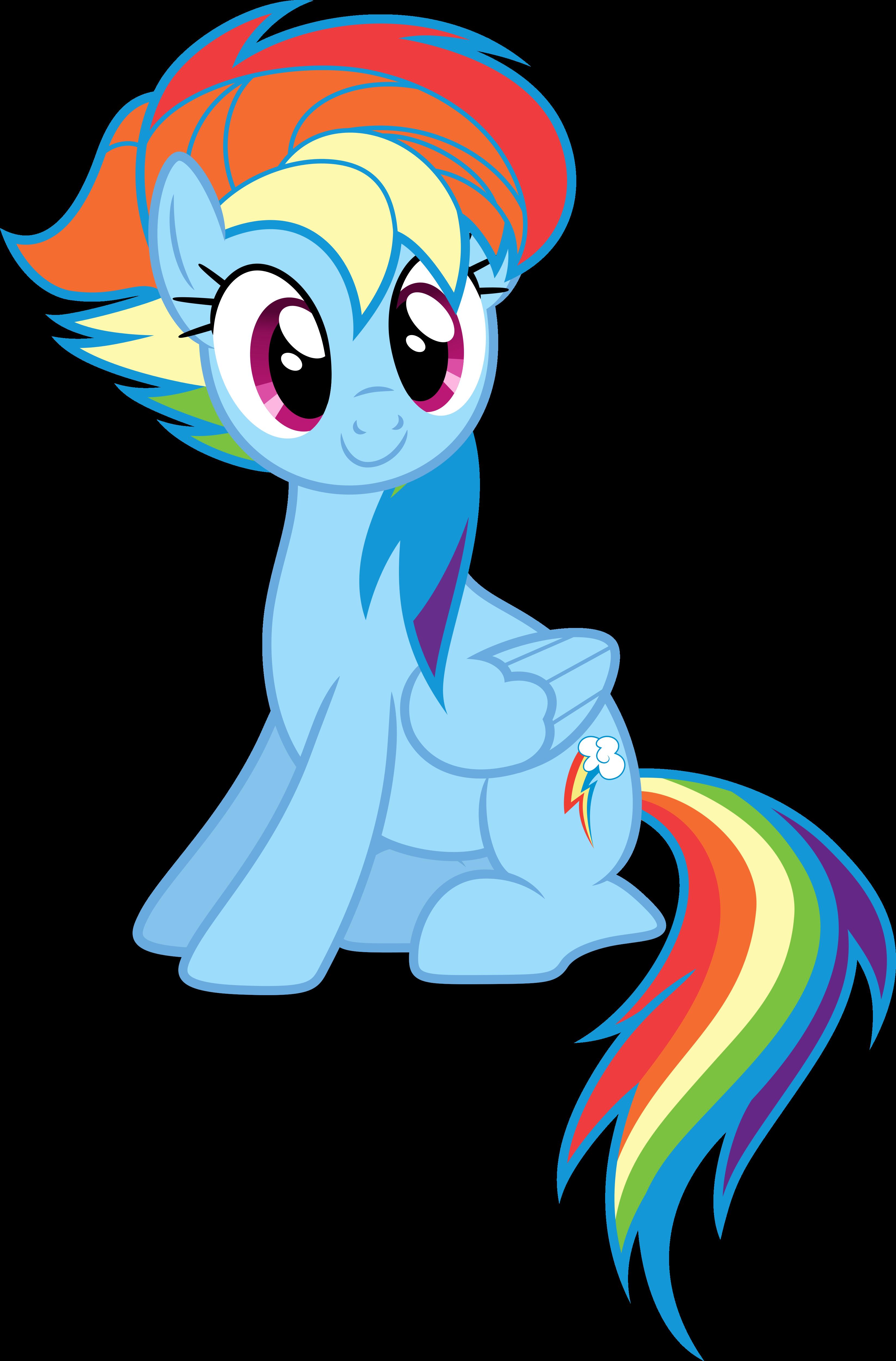Alternate Hairstyle Rainbow Dash Hairstyle